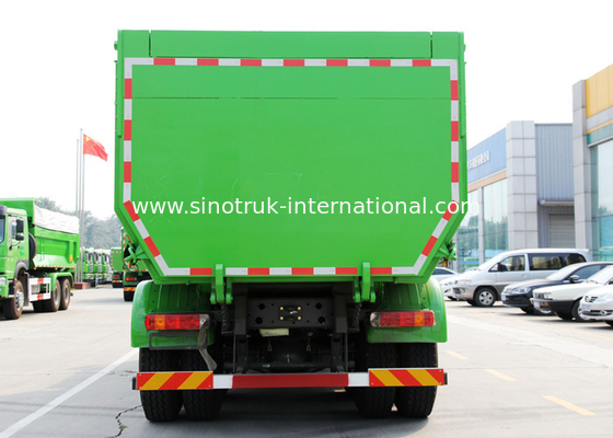 China 20 cbm SINOTRUK HOWO Tipper Dump Truck With 5800 * 2300 * 1500mm Cargo Body factory