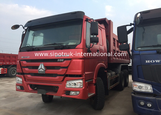 China 6 X 4 371HP Heavy Duty Muck Tipper Dump Truck For Carrying Muck Easy Operation factory