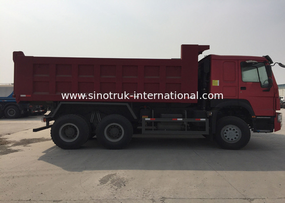 China Commercial Dump Truck SINOTRUK HOWO ZZ3257N3447A Single Berth For Mining factory