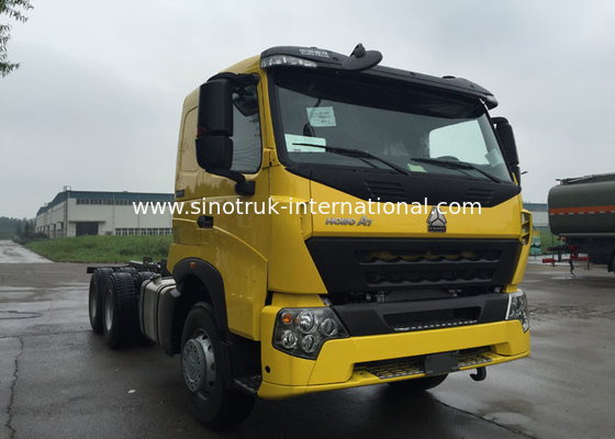 China Construction Industry Tipper Dump Truck 30 - 40 Tons Sinotruk Howo Dump Truck factory