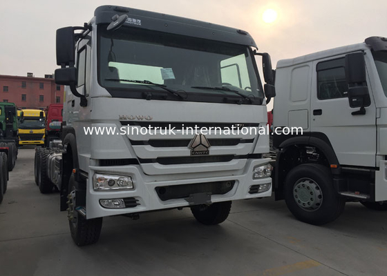 SINOTRUK HOWO Dropside Cargo Commercial Vehicles Truck Chassis LHD 6X4 371HP