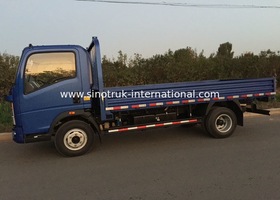 4 Tons HOWO SINOTRUK Light Duty Box Trucks ZZ1047C3414C1R45