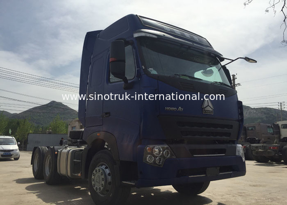 China SINOTRUK HOWO Semi Trailer Tractor Truck Head With Air Conditioner 60-70 Tons factory