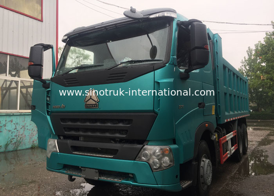 China SINOTRUK HOWO A7 Tipper Dump Truck For Construction 30 - 40 Tons RHD 10 Wheels factory