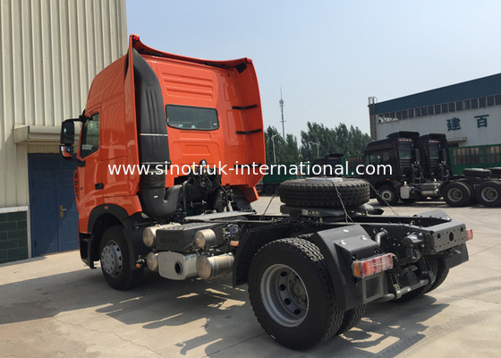 4X2 Heavy International Truck Tractor , High Safety Head Truck Trailer