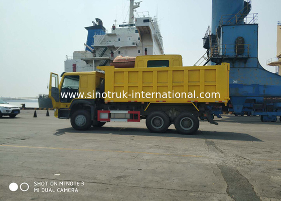 China RHD Large Capacity Tipper Dump Truck With Electronic Management System factory