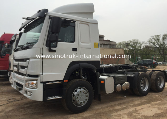 Long Cabin 70 Ton HOWO Tractor Truck For Construction Site