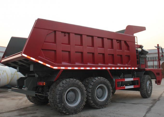 SINOTRUK HOWO 70 Mining Dump Truck 6X4 LHD 371HP 70tons