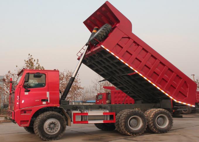 Sinotruk 10 Wheel 6x4 Mining Dump Truck / Heavy Rear Dump