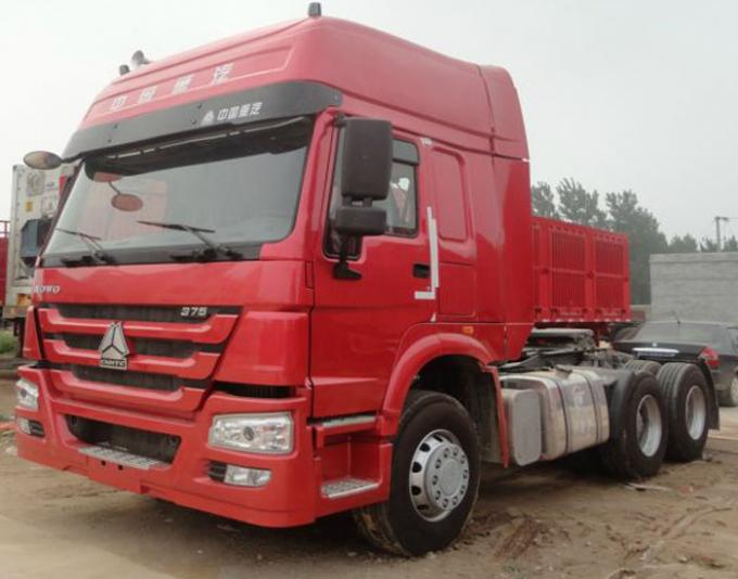 Tractor Truck SINOTRUK HOWO LHD 6X4 Euro2 336HP two berth ZZ4257N3241V