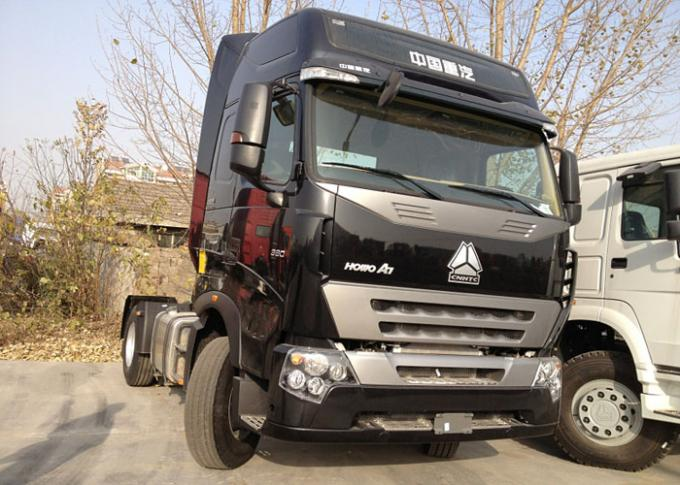 A7 Tractor Truck LHD 6X4 Euro 2 371 HP With Power Assisted Hydraulic Steering