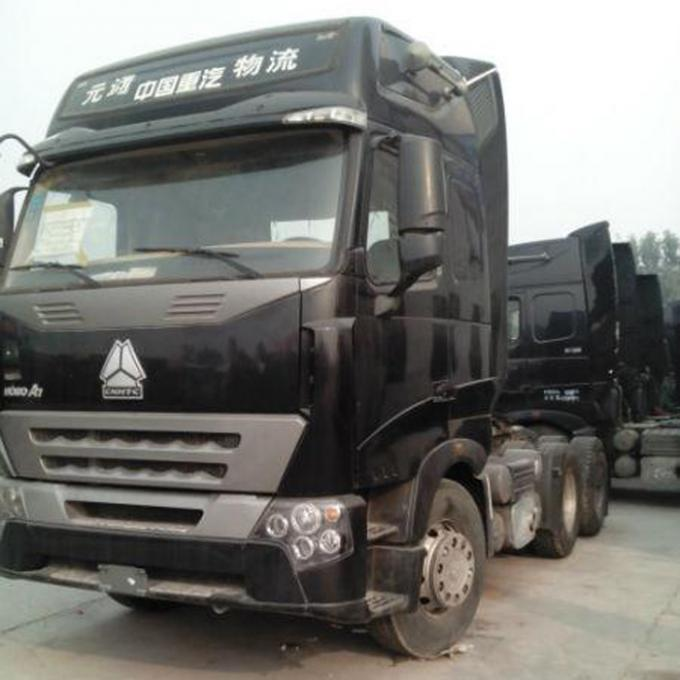 Professional Tractor Truck With Single - Plate Dry Coil - Spring Clutch