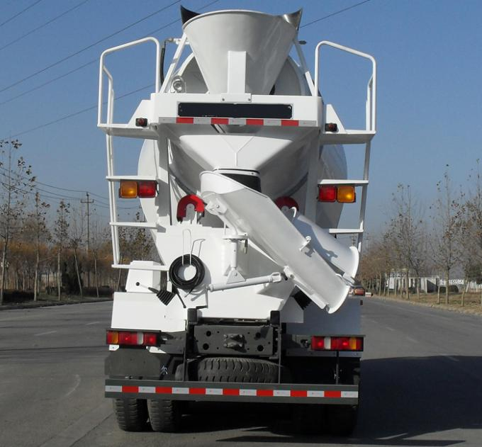 10 Cubic Meters Concrete Mixer Truck With Pump A7 371HP 6X4 RHD