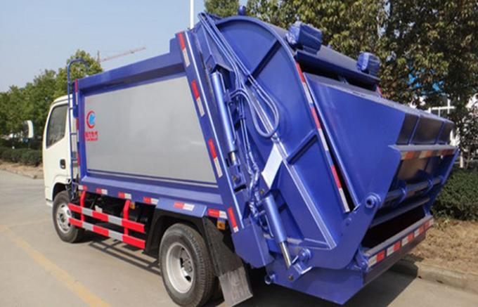 SINOTRUK HOWO Compressed Garbage Collection Truck 5-6CBM LHD 4X2 ZZ1087D3415C180