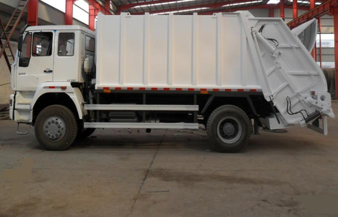 12CBM Compactor Food Rubbish Removal Truck With Low Fuel Consumption