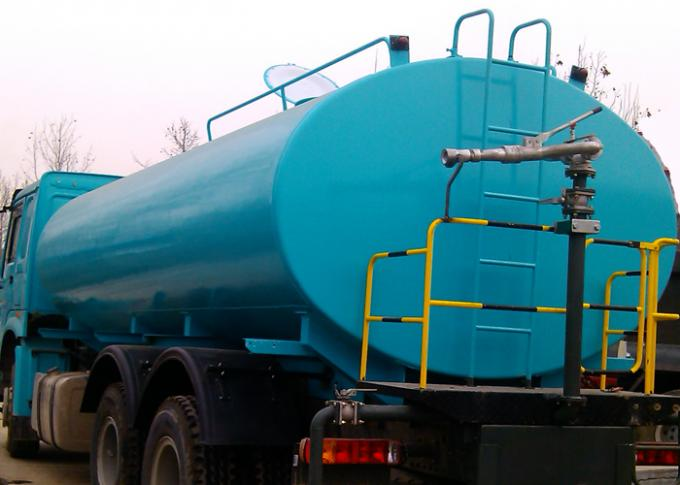 Potable Water Tanker Trucks 19CBM For Road Flushing , Water Hauling Trucks