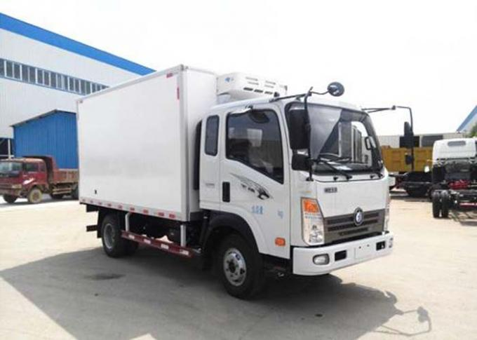 Small Cargo Cold Storage 8 Ton Refrigerated Truck For