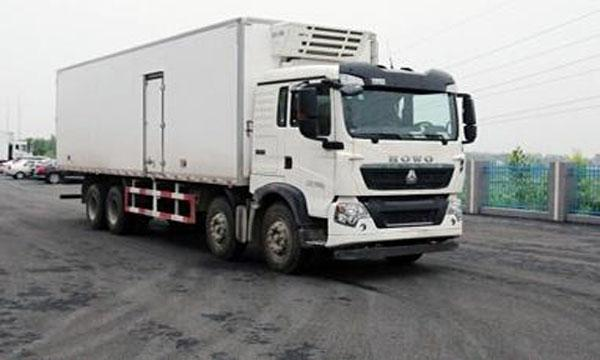 8×4 35 Drive Type Tons Refrigerated Delivery Truck For Keeping Fresh Goods