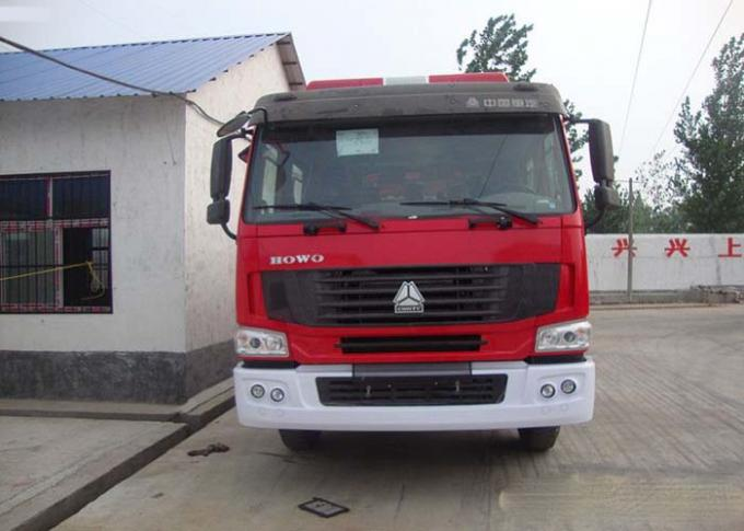 Water Tank Fire Fighting Vehicles 8-12 CBM 290 HP Emergency Rescue Vehicles