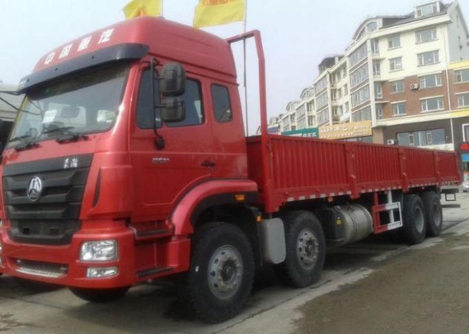 Fence Cargo Stake Truck SINOTRUK HOWO 30-60 Tons Capacity 8X4 LHD Euro2