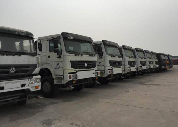 HOWO High Efficiency Water Tank Truck With High Low Level Spraying