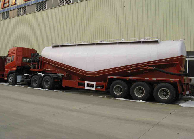 Large Construction Site Semi Trailer Truck With #50 / #90 Fifth Wheel