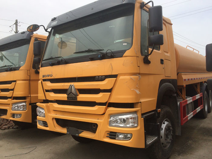 High Pressure 4000 Gallon Water Truck , LHD 6X4 Construction Water Trucks